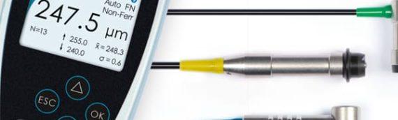 ระบบการวัด Coating thickness gauge ยี่ห้อ Phynix